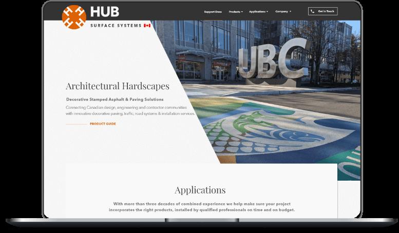 hubss website image